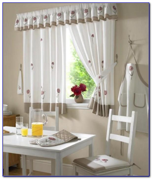 Kitchen Curtains And Valances Set
