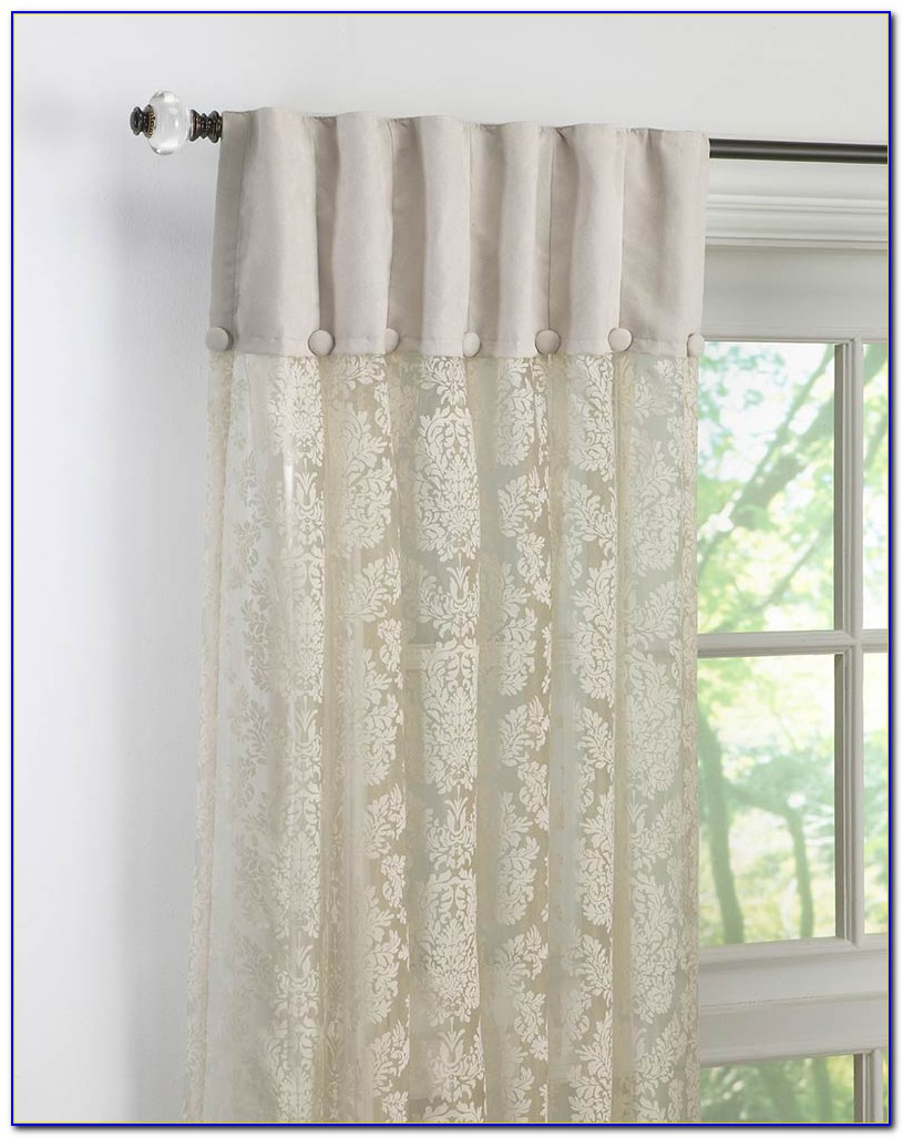 Lace Curtain Panels For Doors