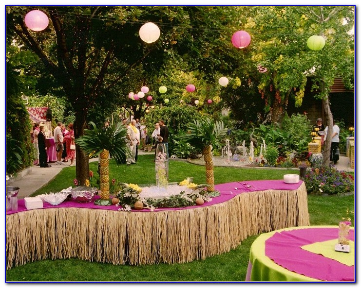 Luau Party Decorations Uk