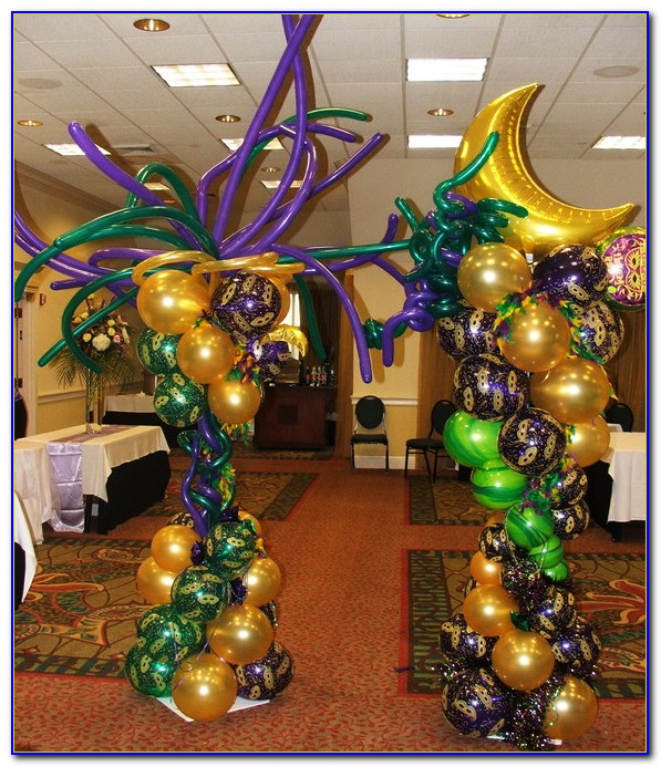 Mardi Gras Decorations Diy