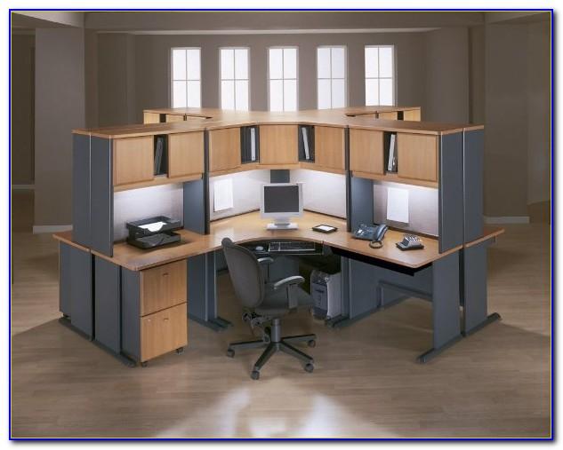 Modular Office Furniture Installation