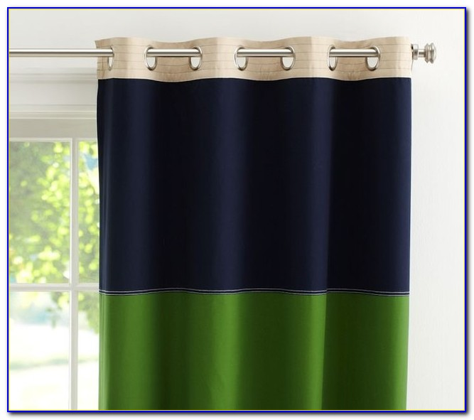 Navy Blackout Curtains 95