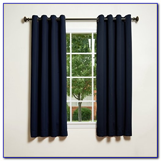 Navy Blackout Curtains Ireland