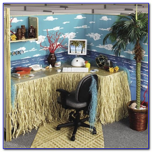Office Cubicle Decorating Contest