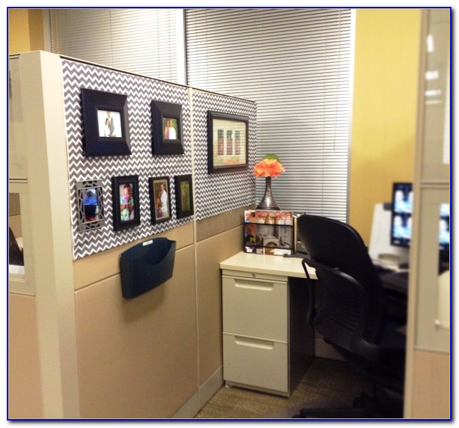 Office Cubicle Decoration Themes Independence Day