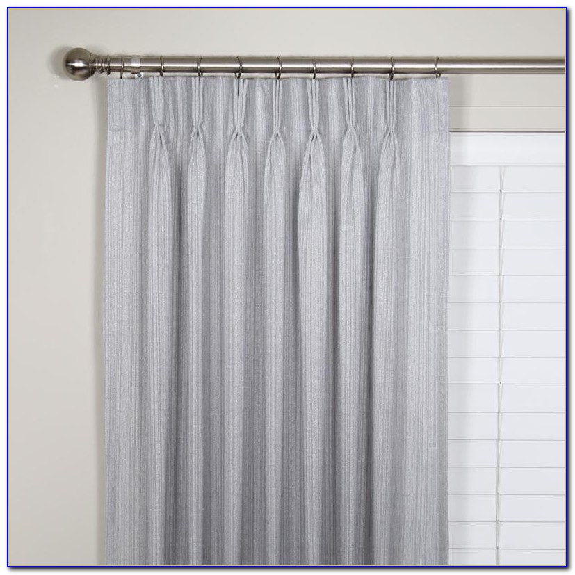 Pinch Pleat Curtains For Traverse Rod