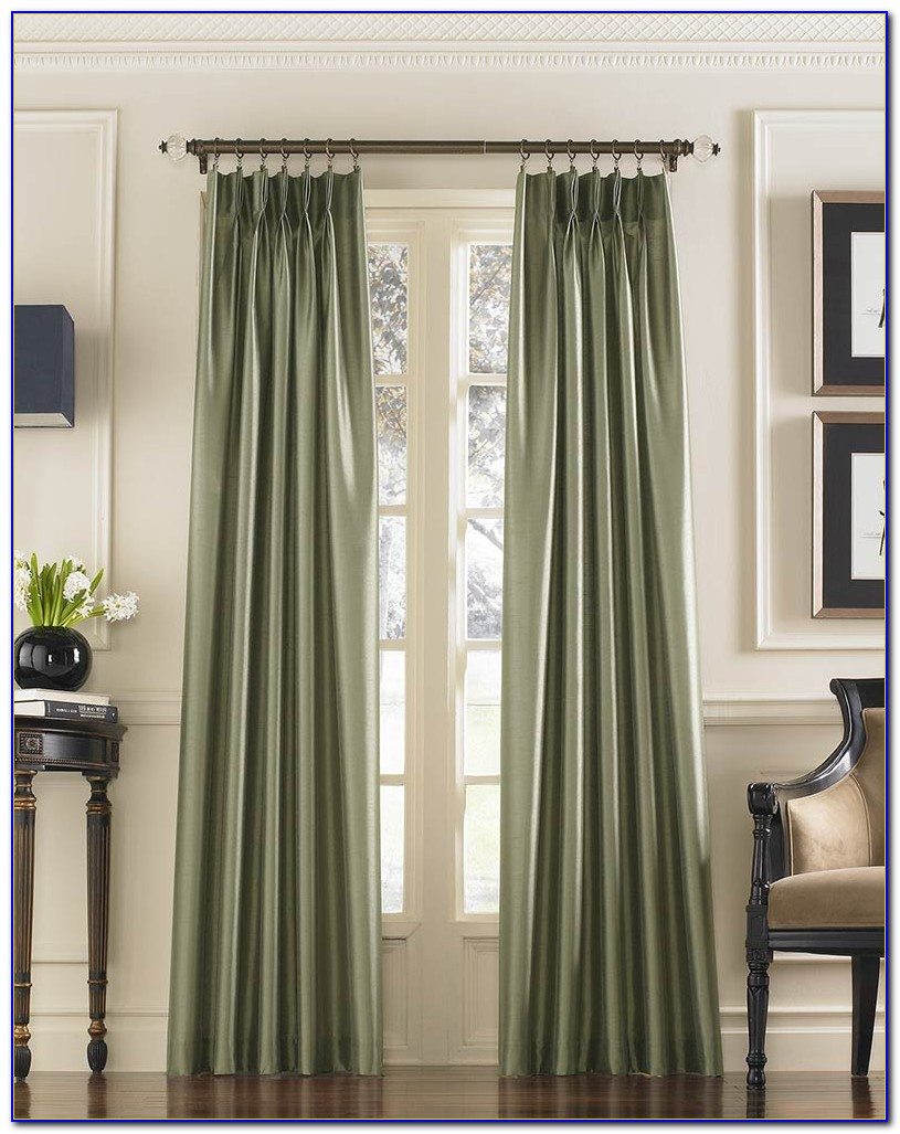 Pinch Pleat Curtains How To Hang