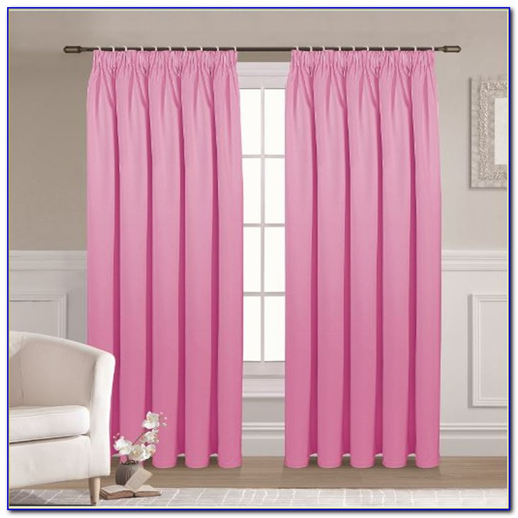 Pink Blackout Curtains 90x90