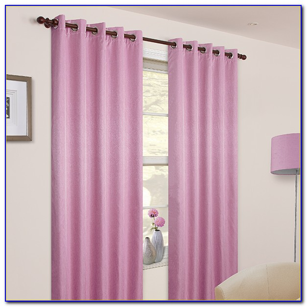 Pink Blackout Curtains 96