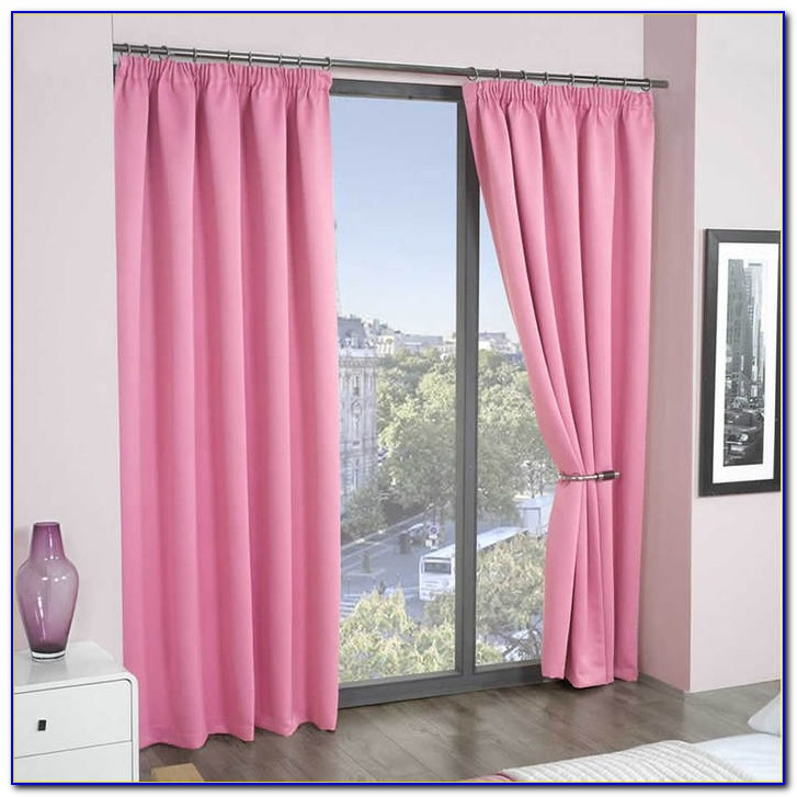 Pink Blackout Curtains Amazon