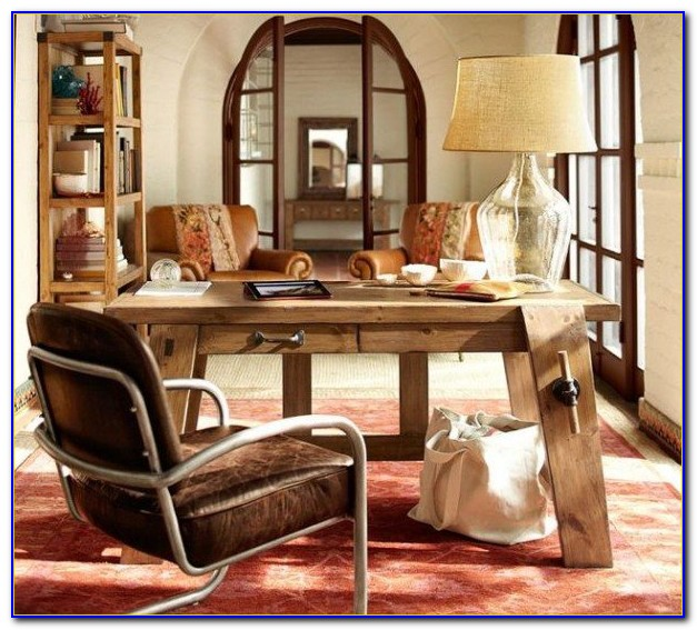 Pottery Barn Like Office Furniture