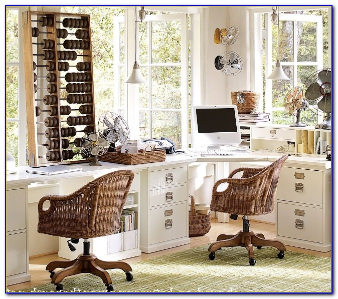 Pottery Barn Office Furniture Ideas