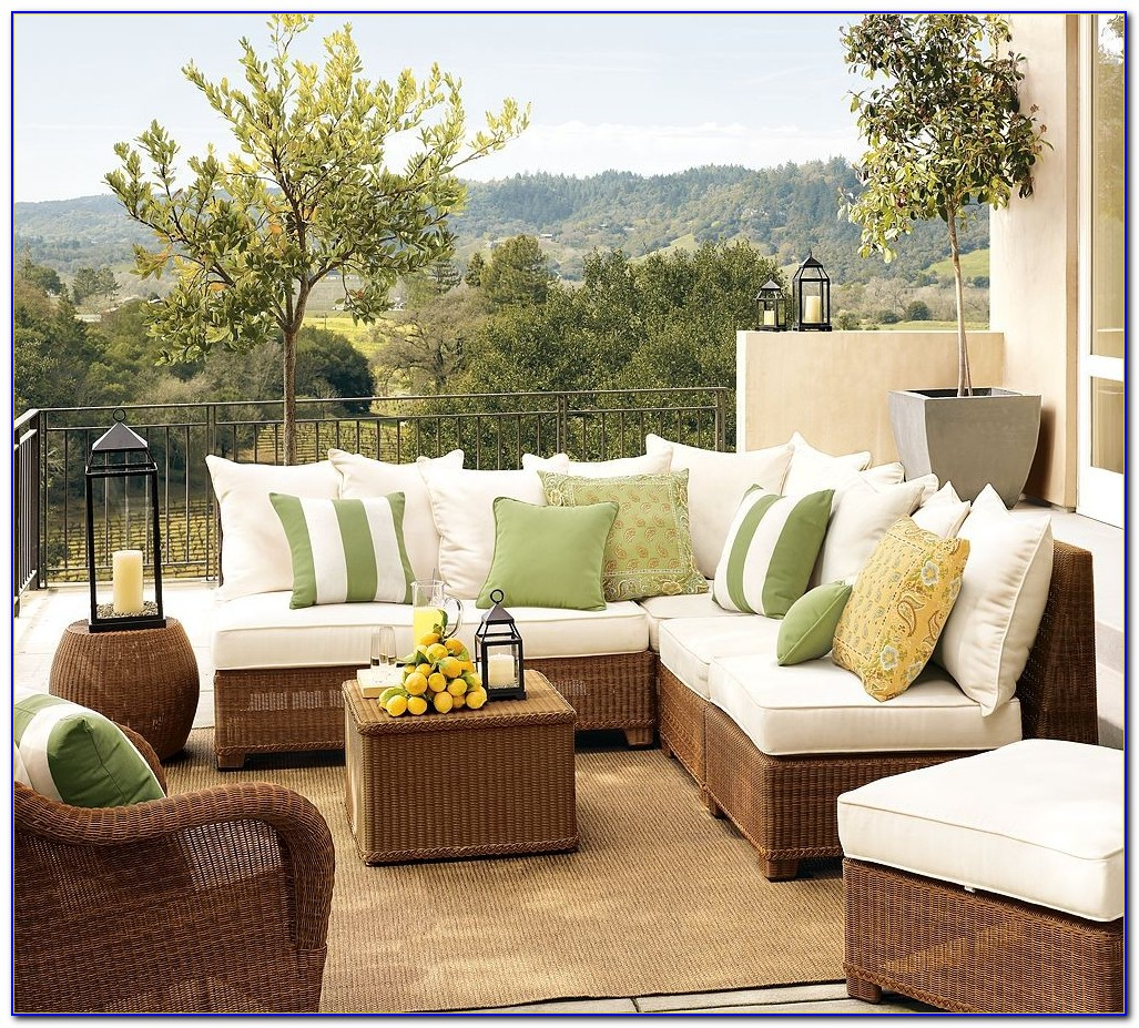 Pottery Barn Outdoor Furniture Cushions