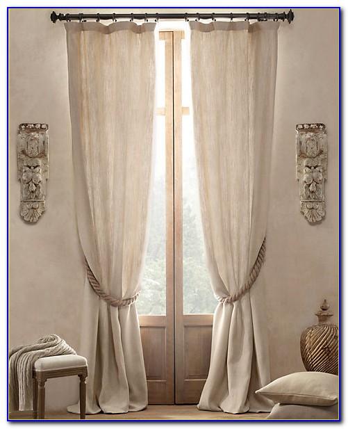 Restoration Hardware Curtains Linen