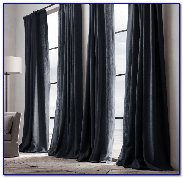 Restoration Hardware Curtains Silk