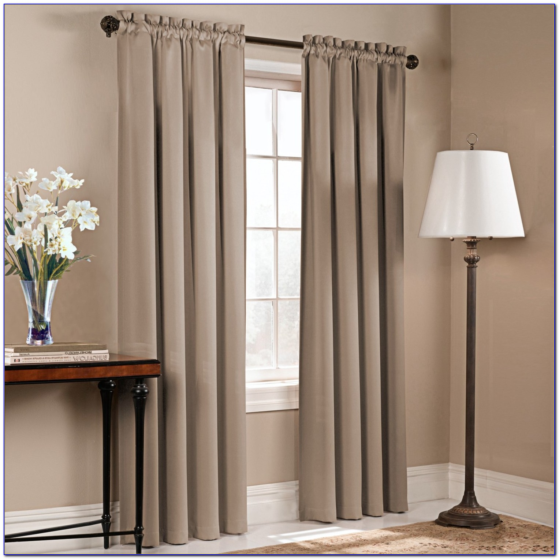 Rod Pocket Curtains On Traverse Rod