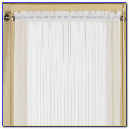Rod Pocket Curtains With Valance