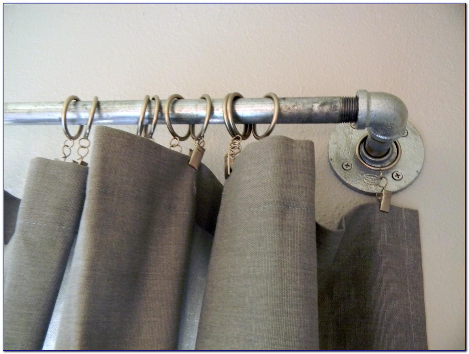 Rustic Curtain Rod Brackets