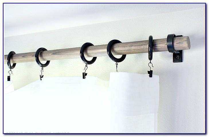Rustic Curtain Rods Finials