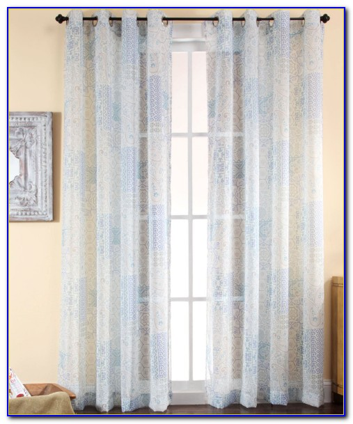 Semi Sheer Curtains For Windows