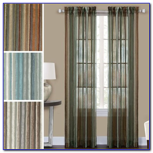 Semi Sheer Curtains Panels