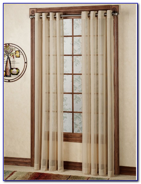 Semi Sheer Curtains With Valance