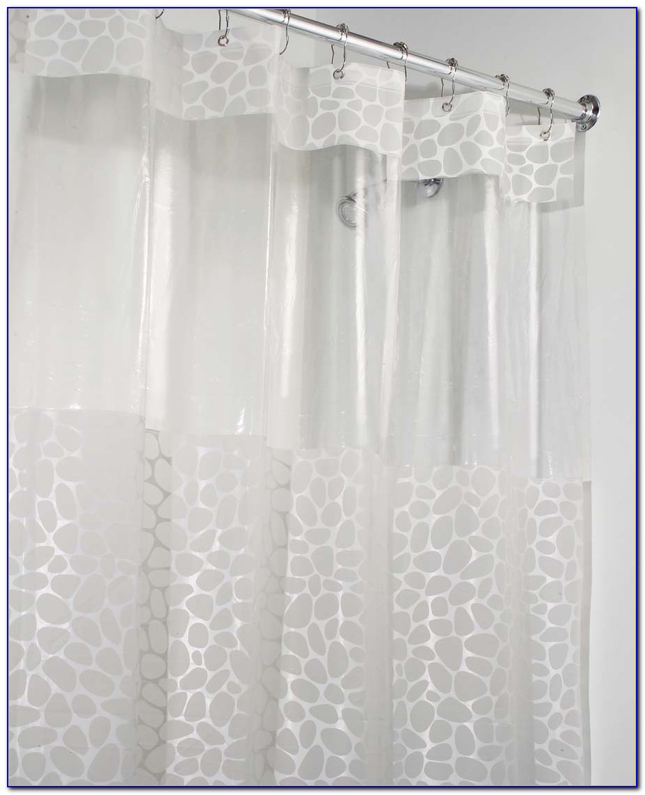 Shower Stall Curtain Size