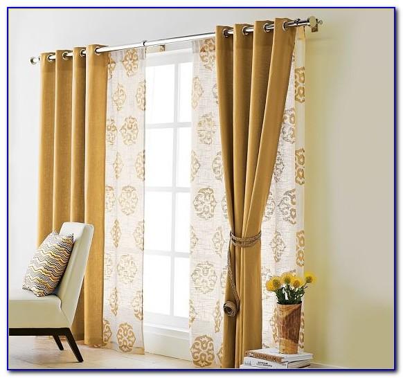 Sliding Glass Door Curtains Length
