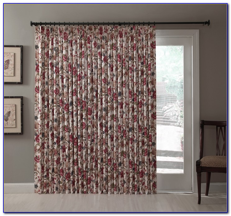 Sliding Glass Door Curtains Or Blinds