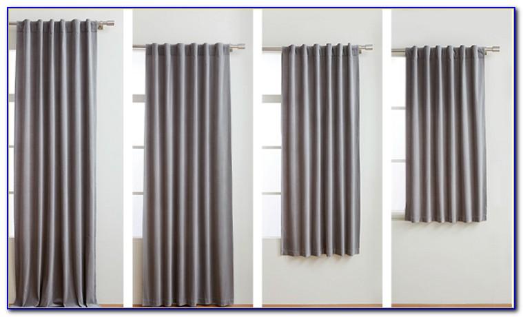 Standard Curtain Sizes Australia