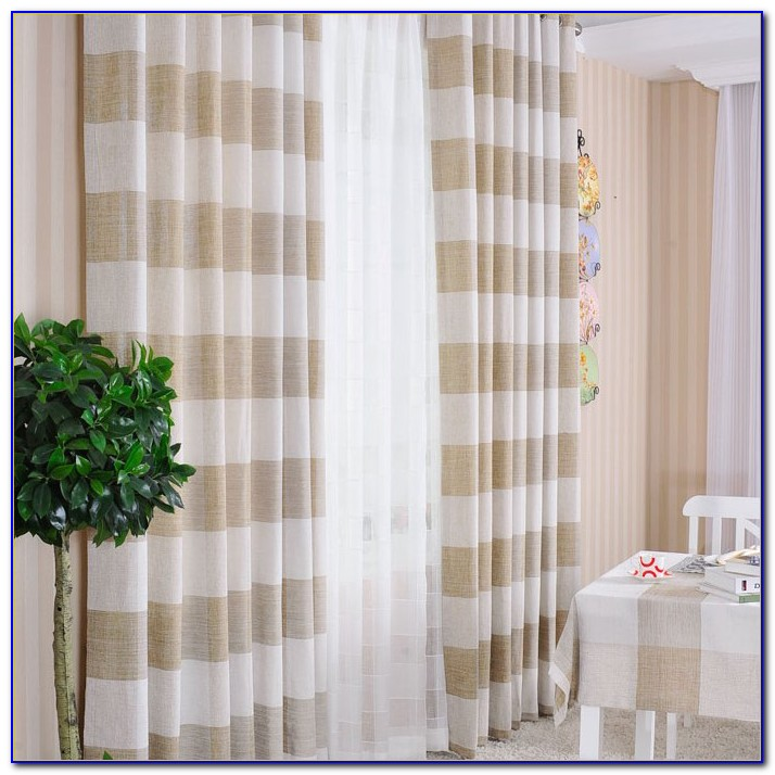 Striped Curtain Panels Horizontal