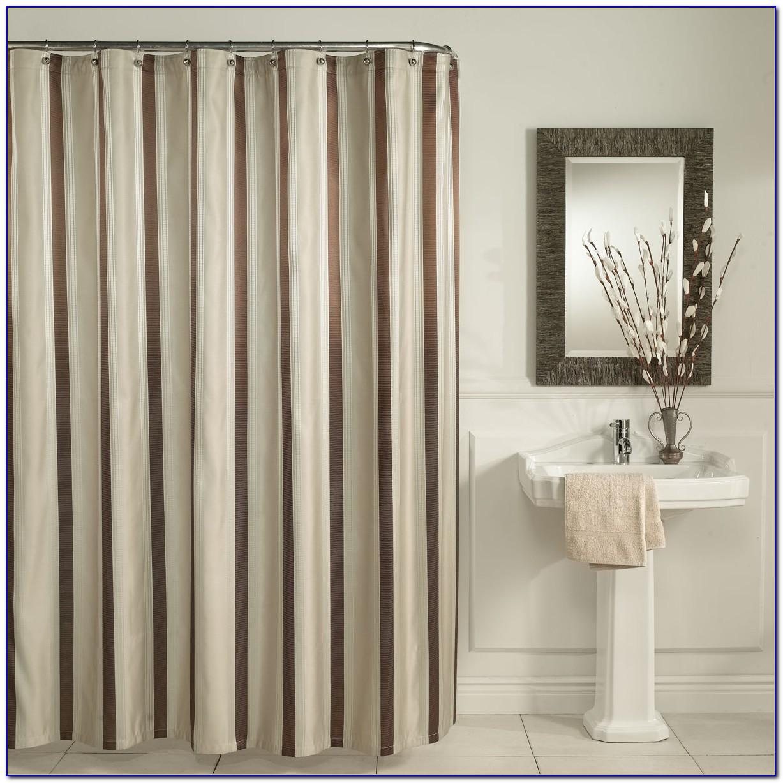 Striped Shower Curtain Multi Colored