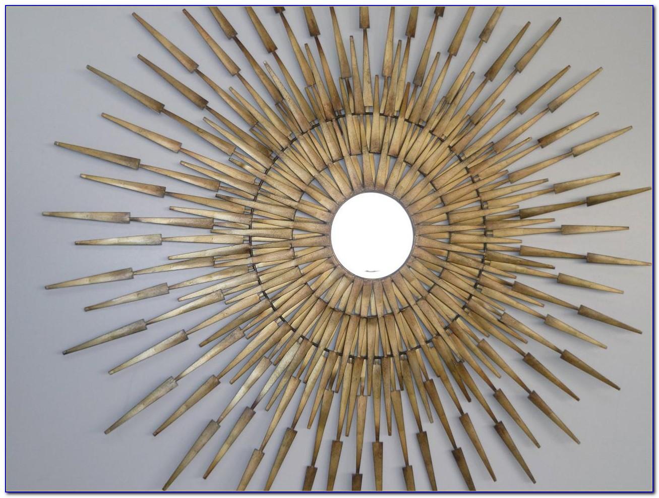 Sunburst Decorative Wall Mirrors