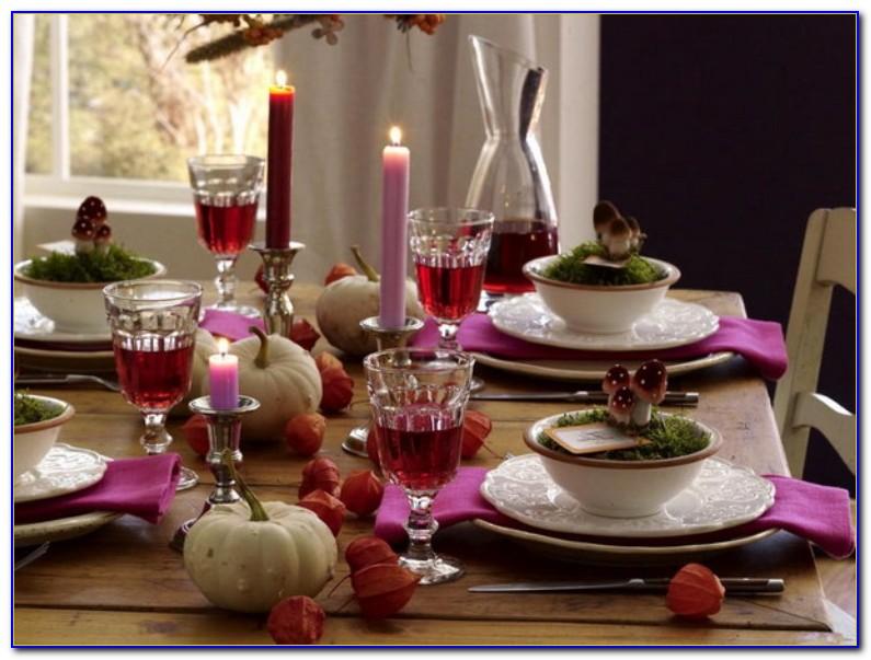 Thanksgiving Table Decorations Martha Stewart