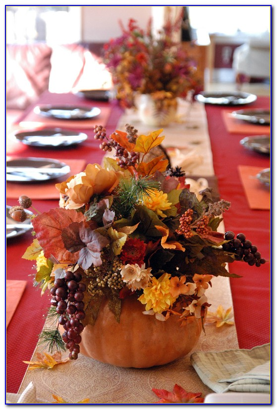 Thanksgiving Table Decorations Pinterest