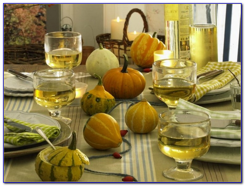 Thanksgiving Table Decorations Uk