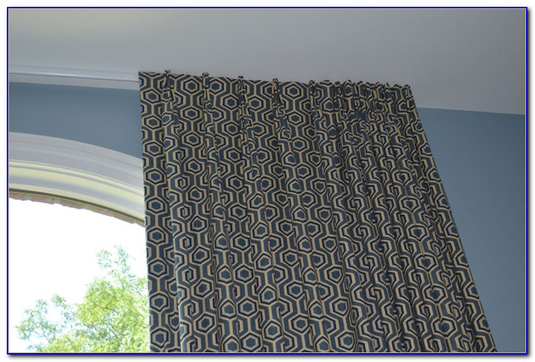 Traverse Curtain Rods With Cord