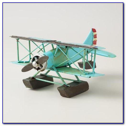 Vintage Airplane Decor For Birthday Party