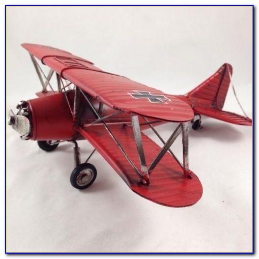 Vintage Airplane Decor For Nursery