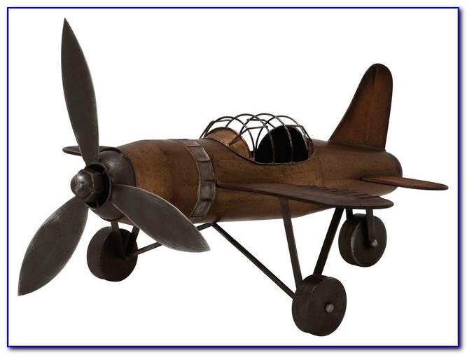 Vintage Airplane Decor Ideas