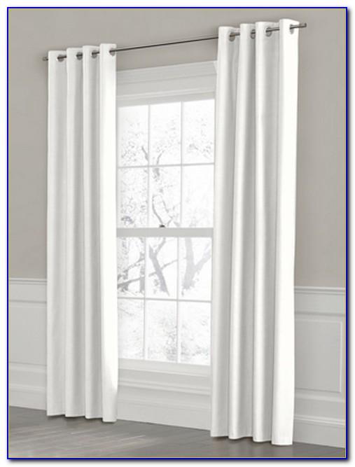 White Grommet Curtains 96