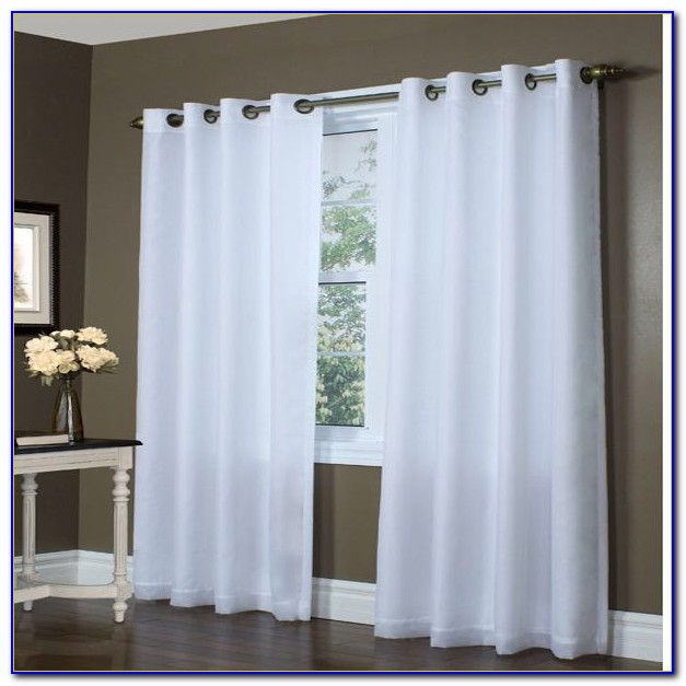 White Grommet Curtains Bed Bath And Beyond