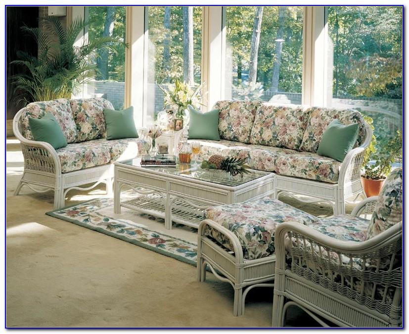 White Indoor Sunroom Furniture