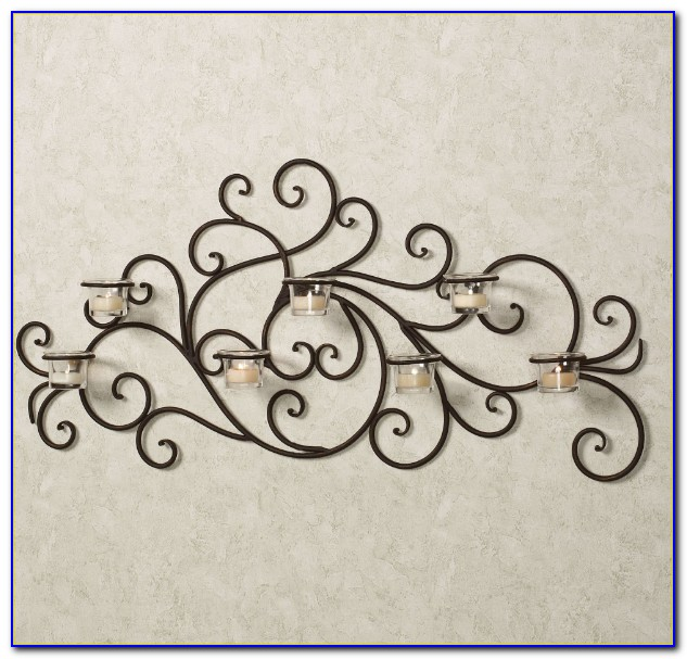 Wrought Iron Wall Decor For Large Area