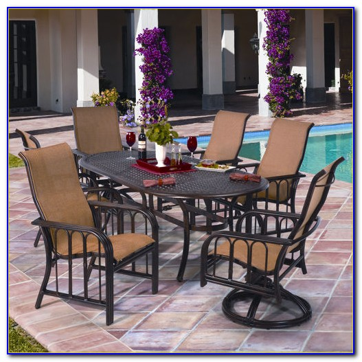 7 Piece Patio Dining Set Costco