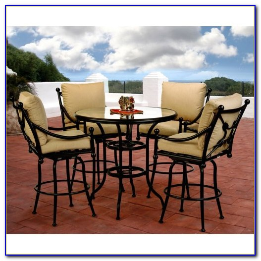 Bar Height Patio Set Cover