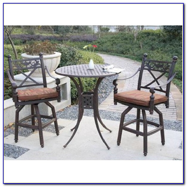 Bar Height Patio Set For 2