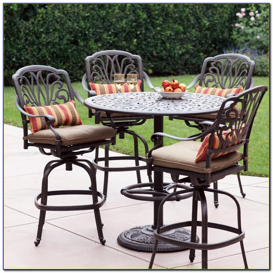Bar Height Patio Set For 6