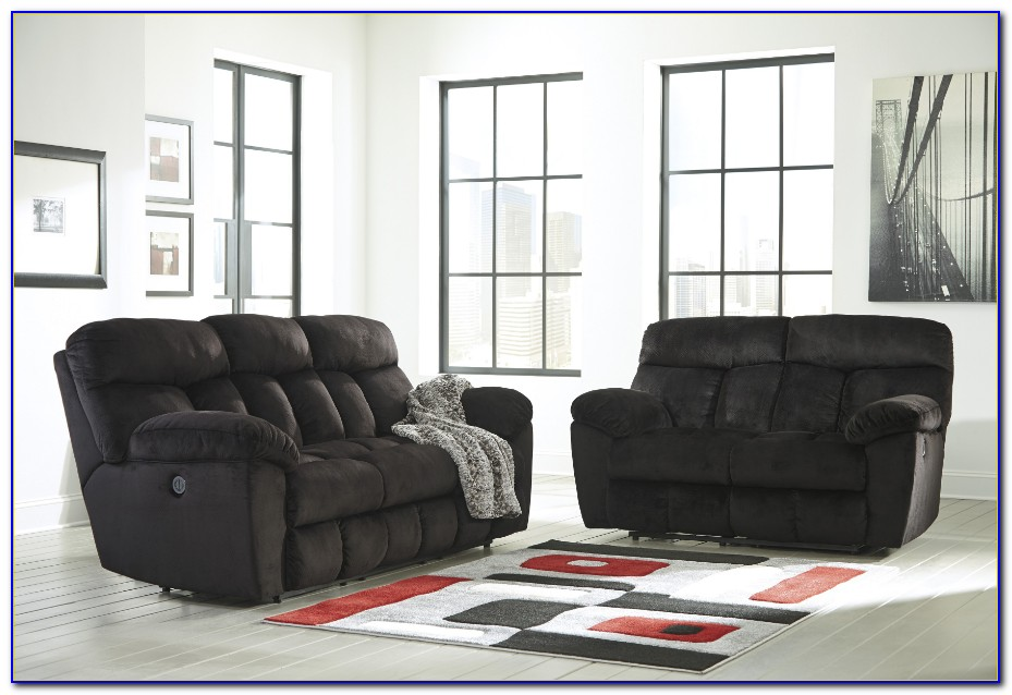 Black Reclining Living Room Sets