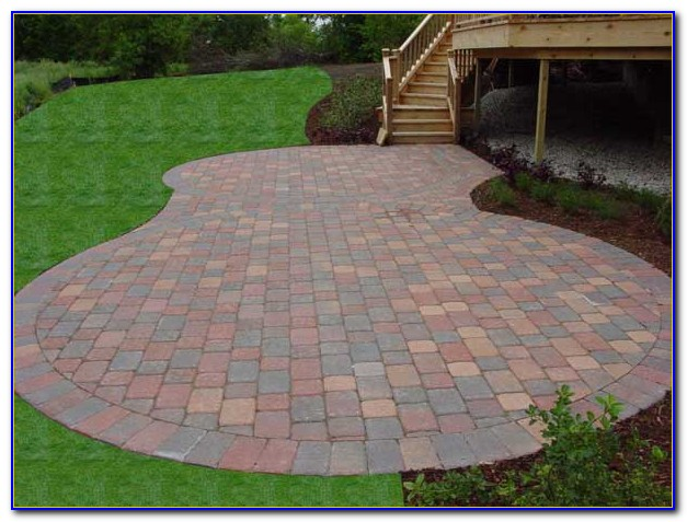 Brick Paver Patio Installation